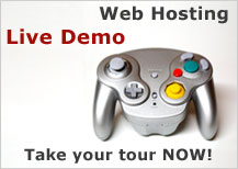 Web Hosting Live Demo
